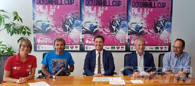 Pila, Coppa Europa e pista di downhill dedicati al campione Corrado Hérin