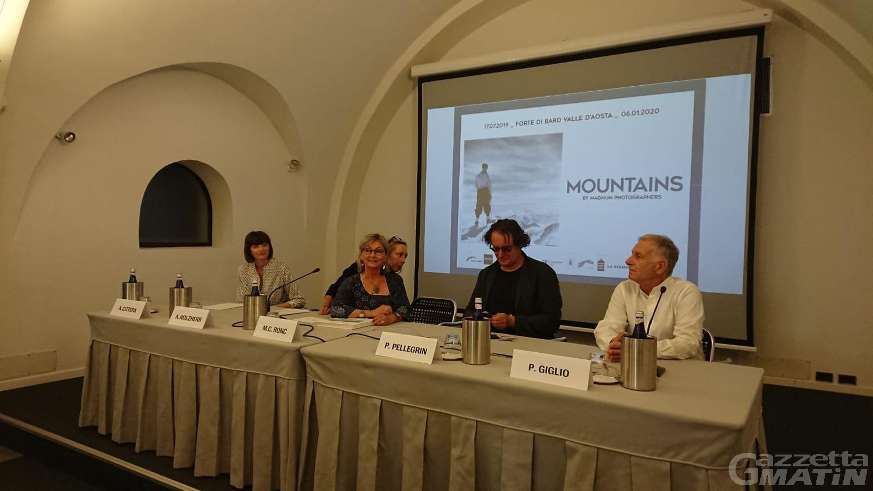 Mostre: la montagna vista dai fotografi Magnum al Forte di Bard