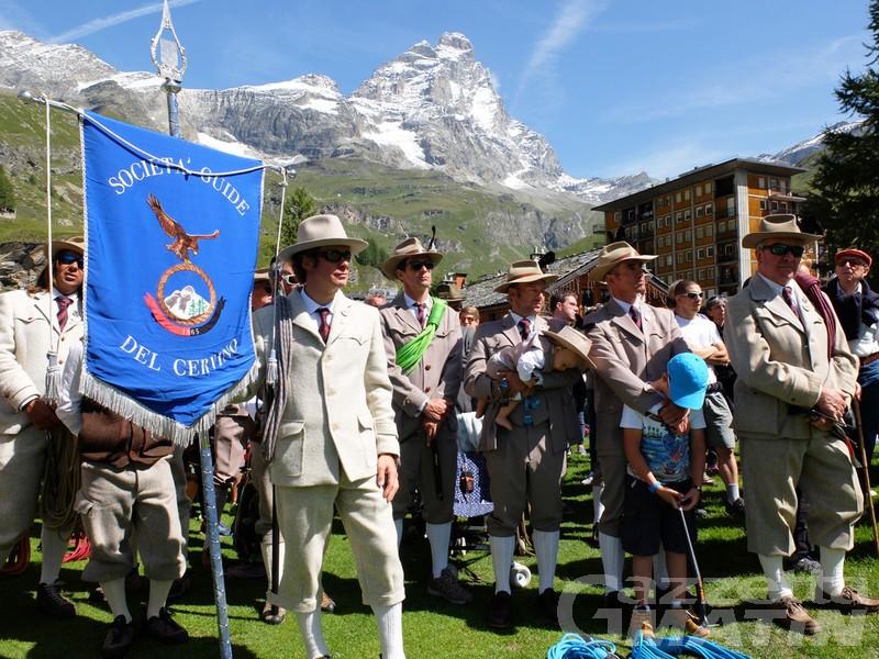 Veilla e Festa delle guide ridotte in segno di lutto a Valtournenche e Breuil Cervinia