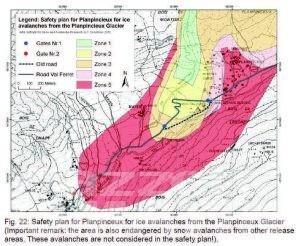 Courmayeur: rischio di crollo del ghiacciaio, chiusa la strada per la Val Ferret e zone da evacuare