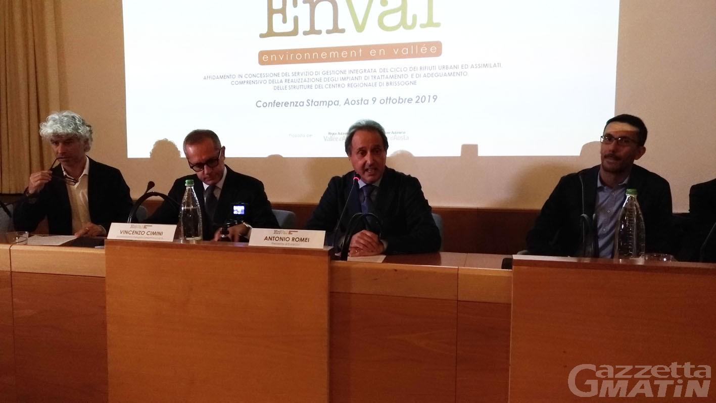 Rifiuti: la società EnVal gestirà il trattamento a freddo a Brissogne