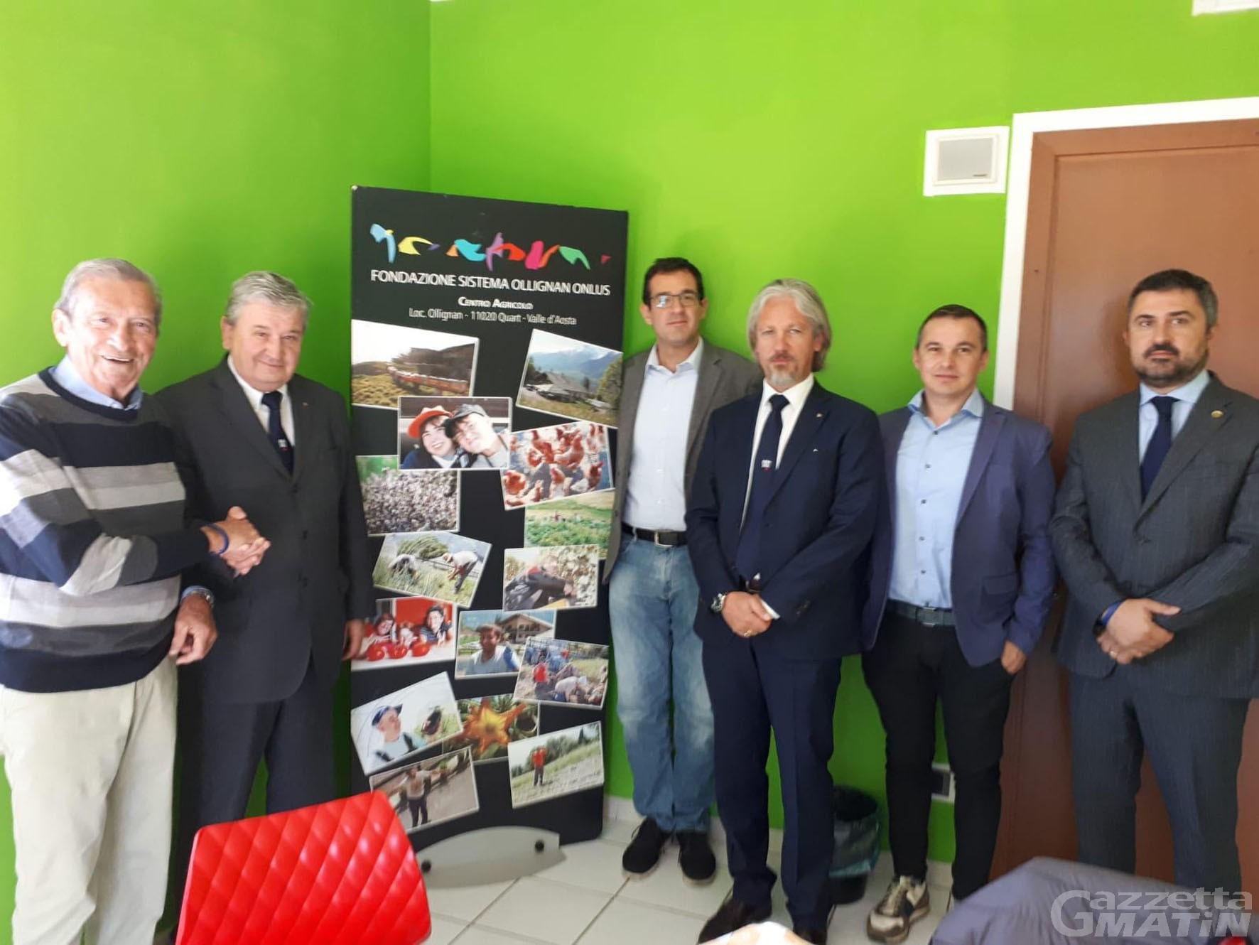 Imprese: Fondazione Ollignan entra in Confindustria
