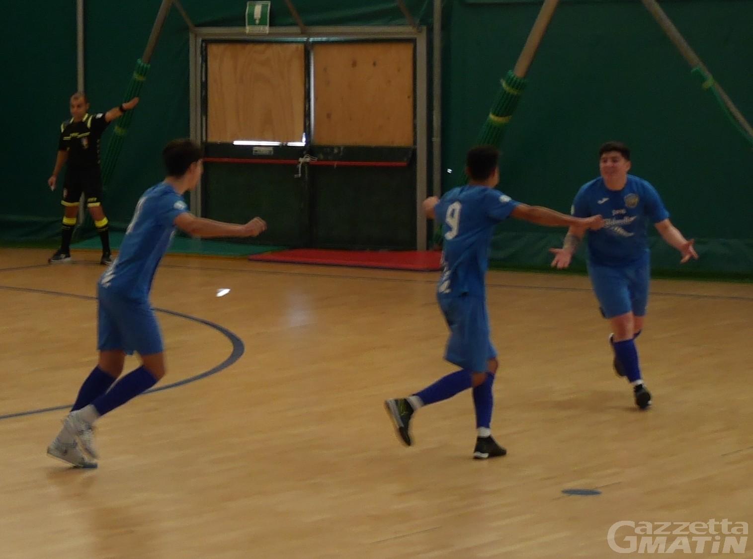 Futsal: l'Aosta Calcio 511 travolge il Leonardo
