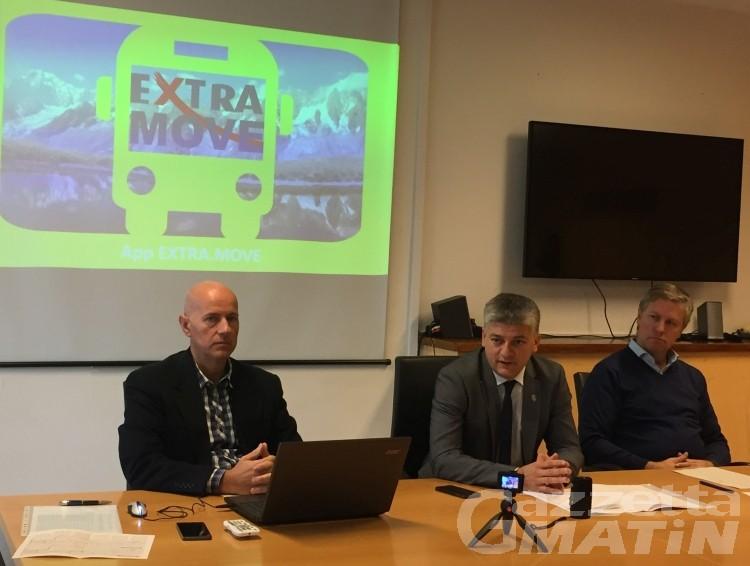 Trasporto pubblico: navetta gratuita, una nuova linea dell'autobus, un servizio notturno e un'App