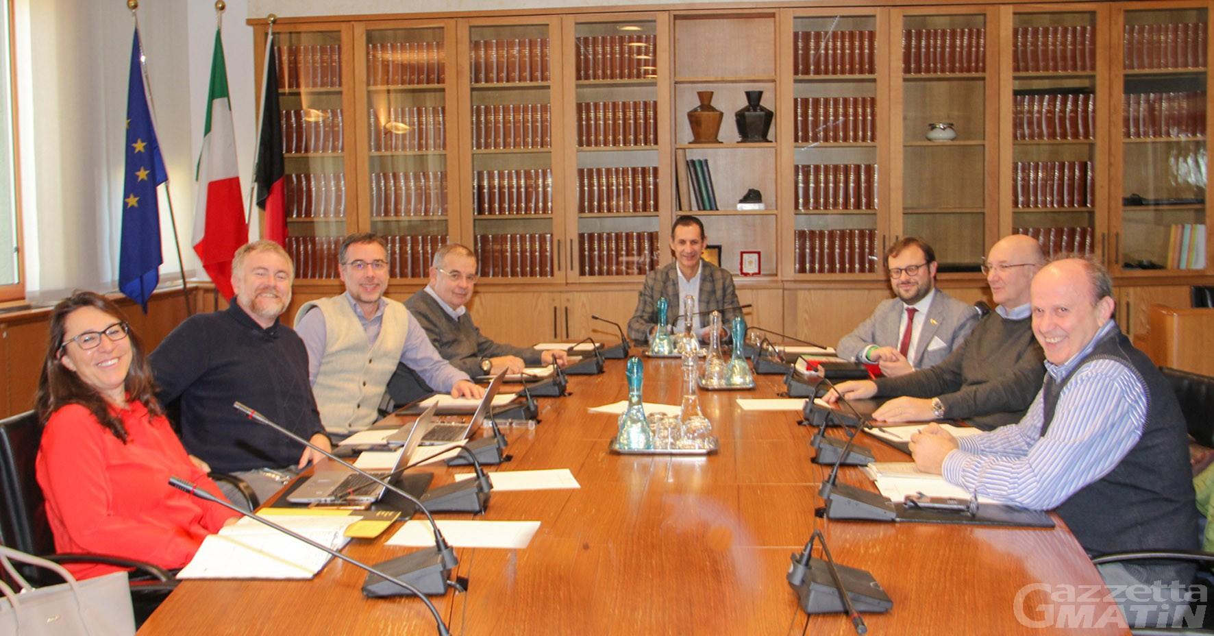Enti locali Valle d'Aosta: Restano presidente della sottocommissione per la riforma