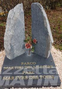 Aosta, parco e cippo per commemorare i Martiri delle Foibe
