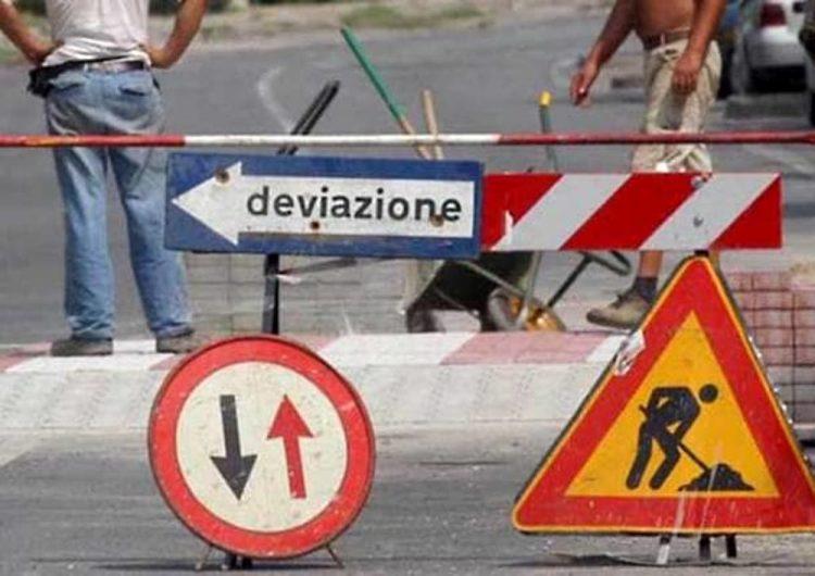 CAMBIANO – Lavori sul manto stradale: chiusa via Torino per una settimana