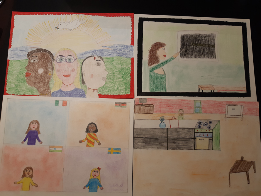 MONCALIERI – Una giornata per capire i disegni dei bambini