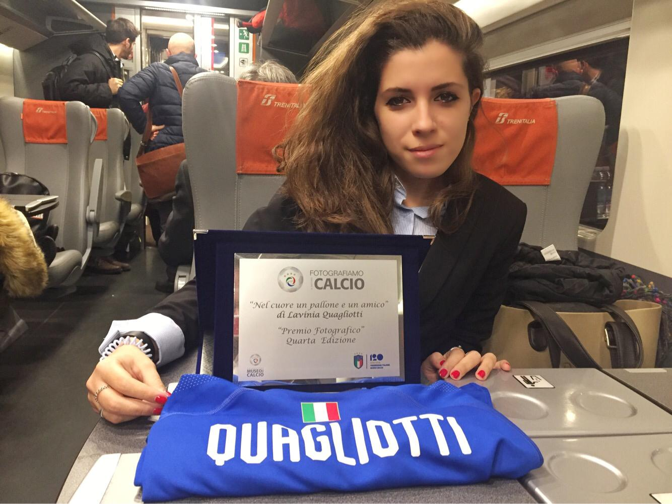 LA LOGGIA – Premiata una loggese nel concorso calcistico della Gigc
