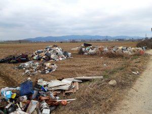 A Trofarello è scattata l'operazione rifiuti free