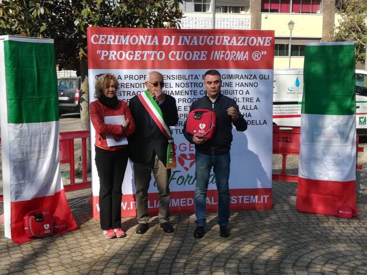 TROFARELLO – Il Comune è cardioprotetto con i defibrillatori