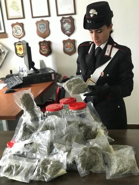 I carabinieri chiudono il market della droga