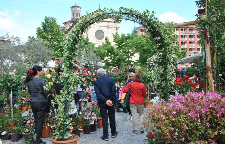 """Domenica 19 maggio Giaveno è in fiore con la """"Maggionatura"""""""