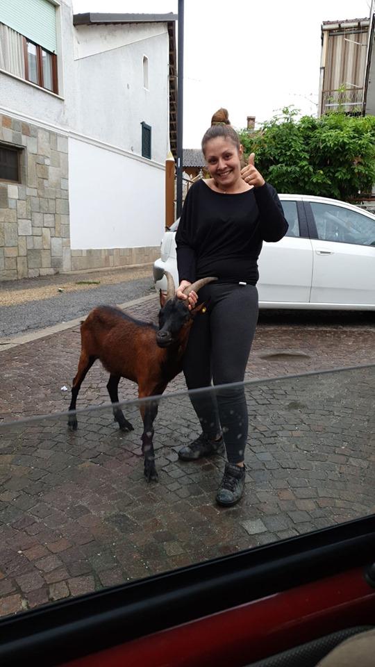 SANTENA – La capretta è tornata a casa dopo 15 giorni
