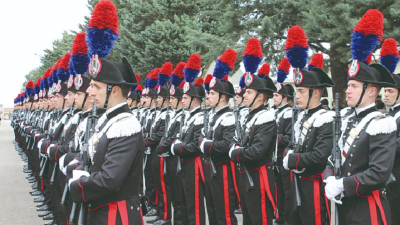 TORINO – Giurano nove nuovi carabinieri atleti