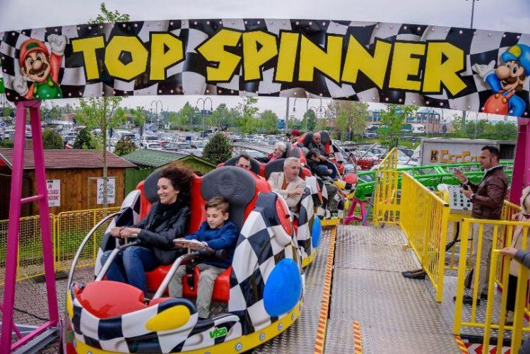 MONCALIERI – Top Spinner al 45 esimo parallelo