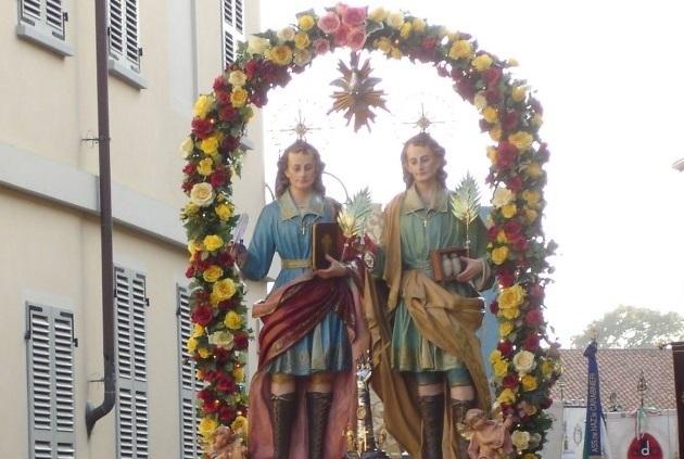 SANTENA – Il programma della festa di Cosma e Damiano