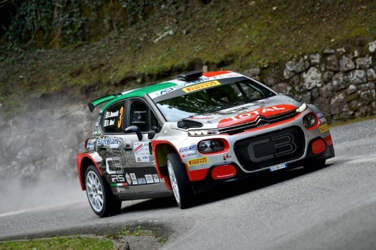 Luca Rossetti ed Eleonora Mori, Citroen C3 R5, conquistano il 55° Rally del Friuli Venezia Giulia