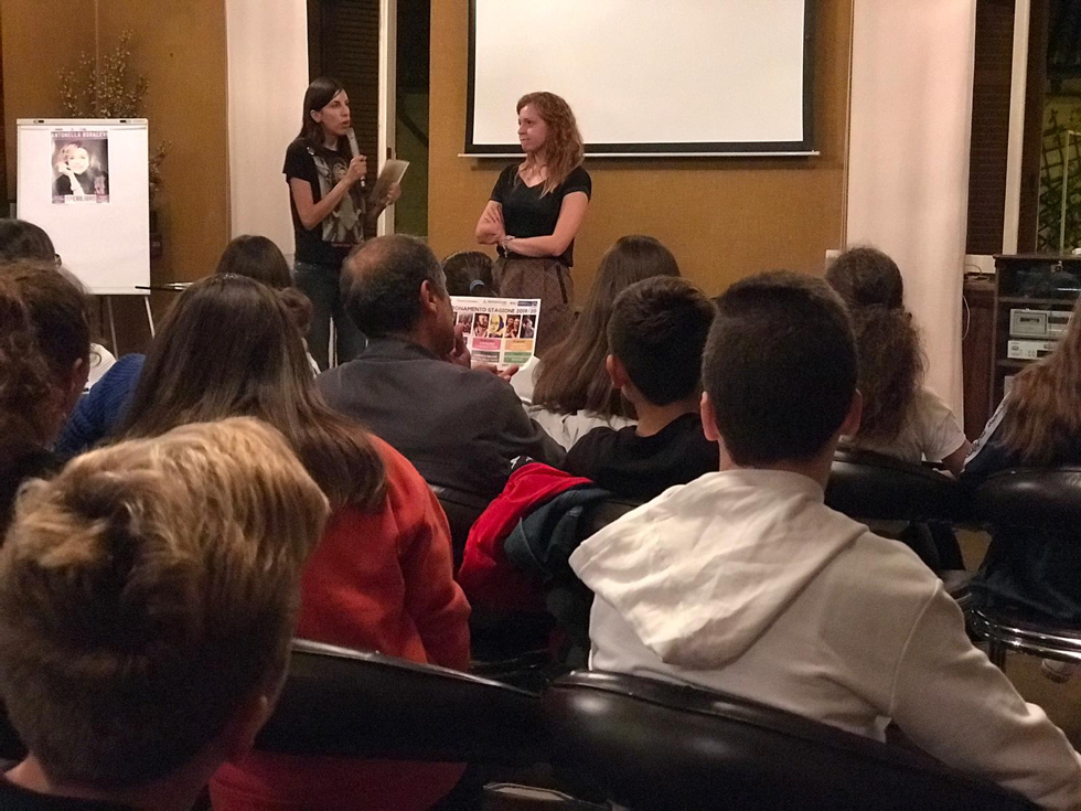 CARMAGNOLA – Baudelaire, e Francesca Gerbi, portano in biblioteca gli studenti delle scuole medie
