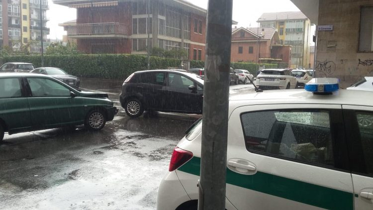 NICHELINO – Incidente in via Cimarosa
