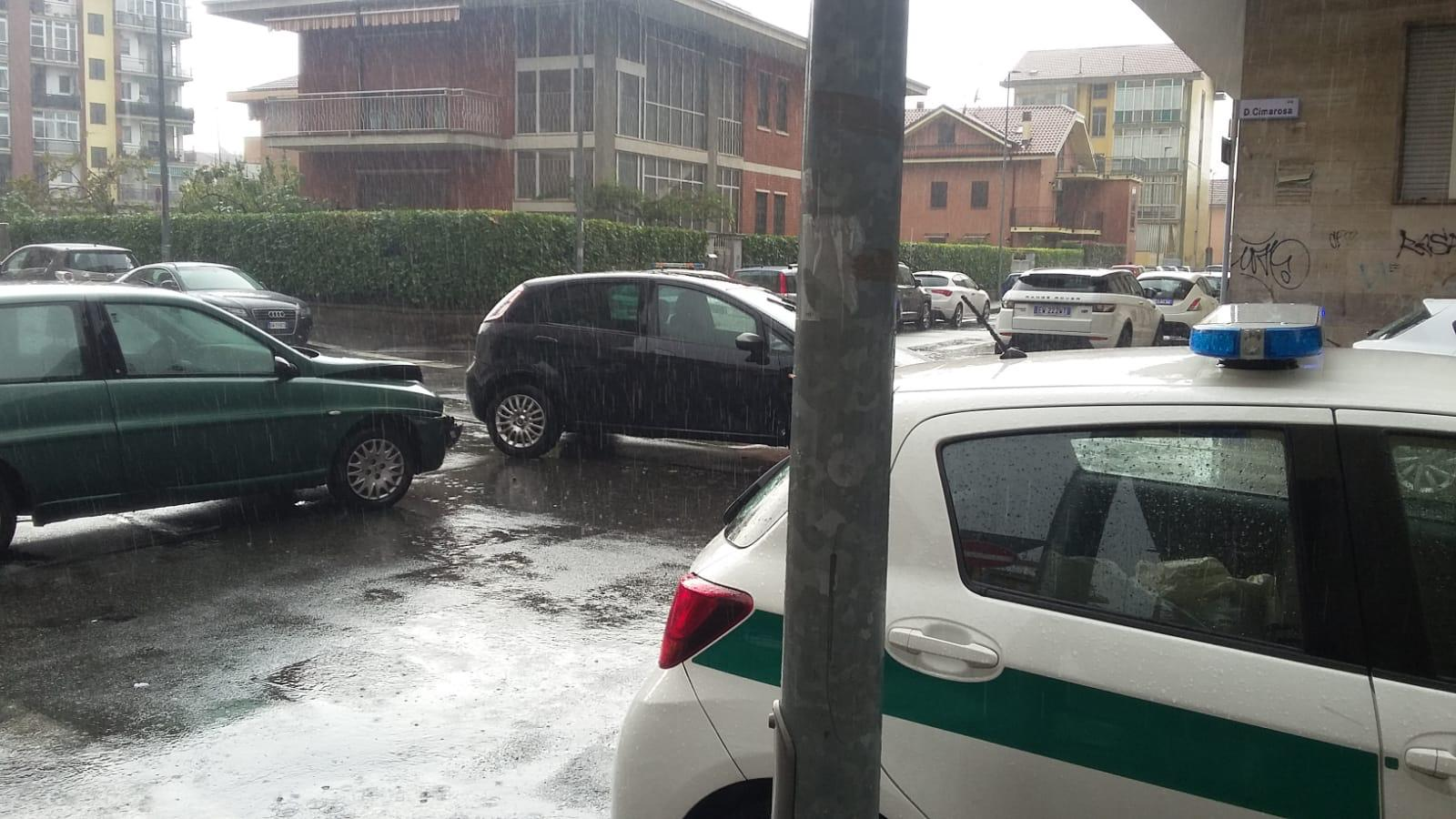 NICHELINO – Incidente in via Cimarosa