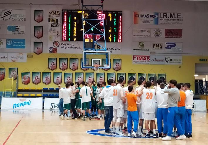 Basket serie C Gold, la Novipiù Campus Piemonte cade al traguardo, vince la 5 Pari