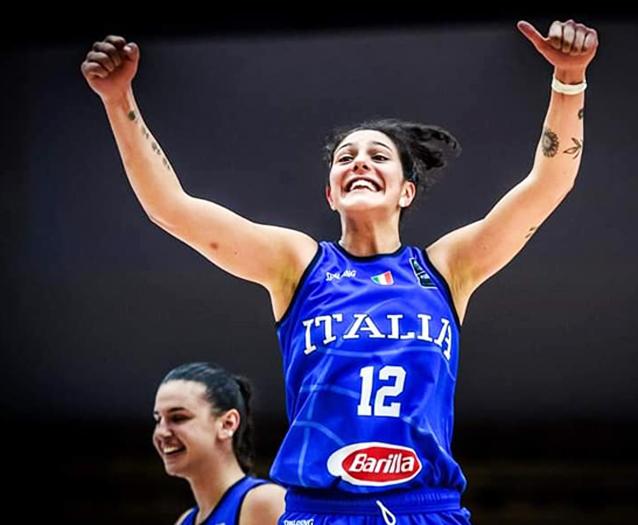 Valeria Trucco convocata in nazionale A da Capobianco. Beatrice Del Pero Riserva