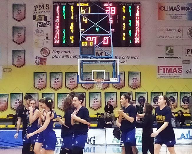 Basket Serie A2, le lunette dell'Akronos rispondono al Bcb Bolzano spazzando Udine