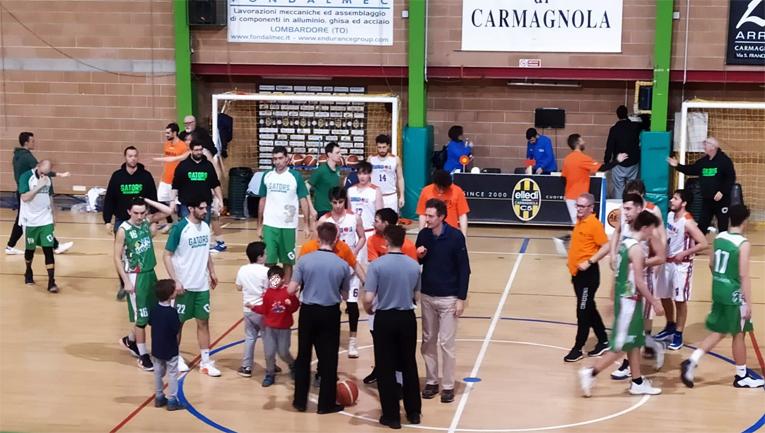 Serie D, Abc e Gators contate ma i carmagnolesi sono lo stesso travolgenti