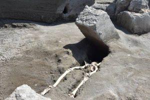 Nuova scoperta negli Scavi di Pompei, trovata la testa del fuggiasco