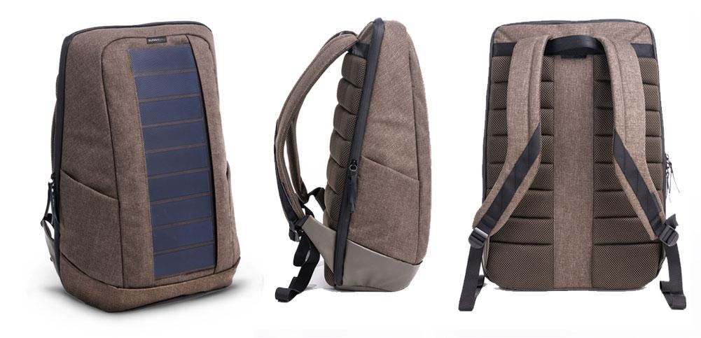 Iconic, uno zaino trendy con i pannelli fotovoltaici