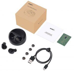 EP-T1, mini auricolari, senza fili e con microfono