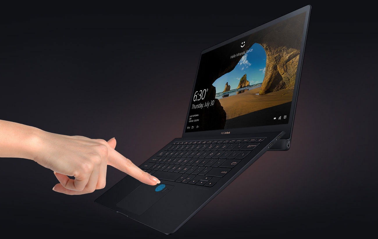 ZenBook S, la cerniera fa la differenza