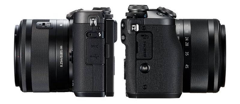 EOS M6, una mirrorless con qualità reflex