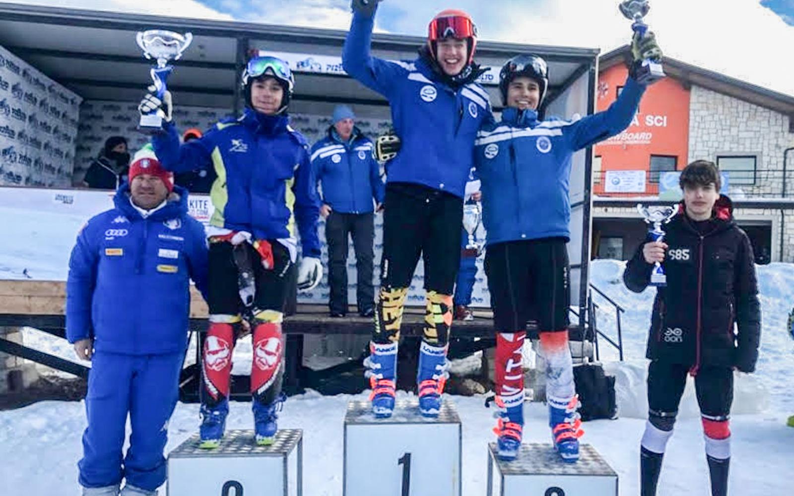 Sci: atleti campani trionfano agli Interregionali. Assegnato a Francesca Carolli il Trofeo Gambardella