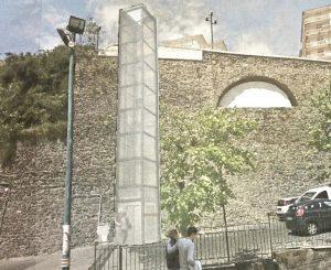 Torre Annunziata, il libro dei sogni. Ascensore vista mare, terrazza panoramica e trasformazione della Rampa