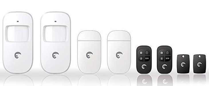 S4 Combo Secual, sistema antifurto wireless con app