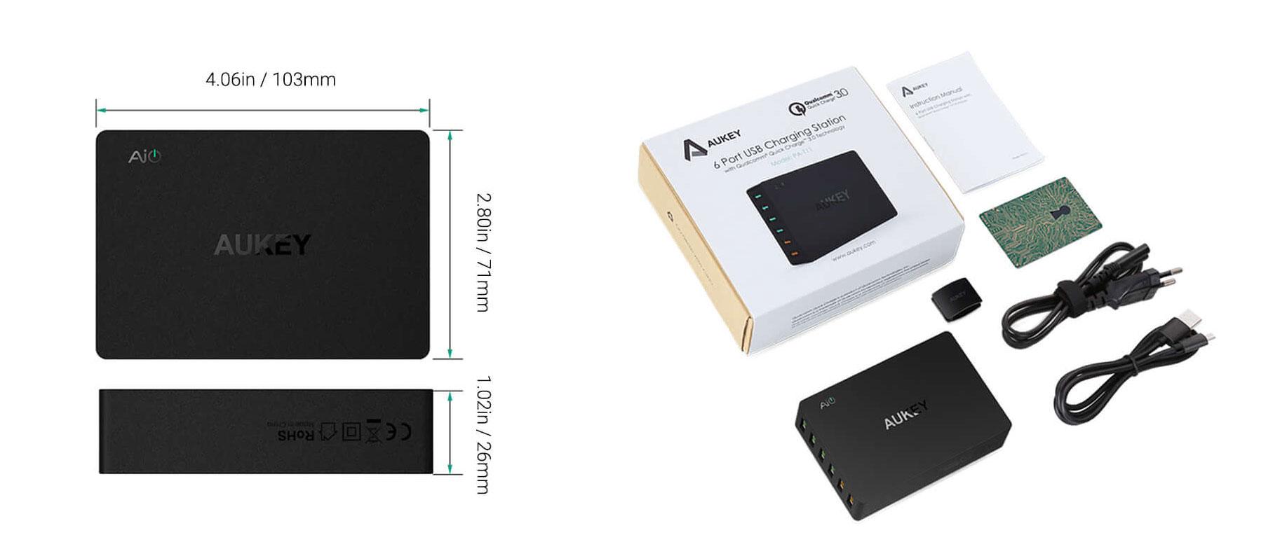 PA-T11, il caricabatterie tascabile con tante porte