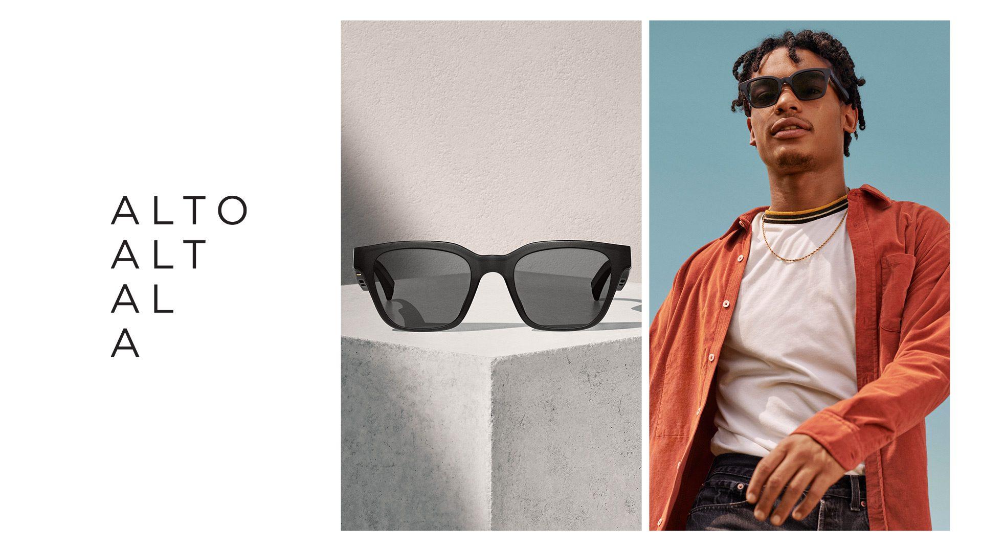 Frames, occhiali da sole con cuffia e AR integrati