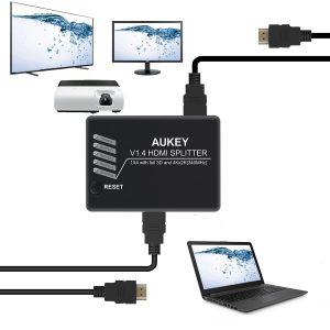 HA-H02, lo splitter HDMI con 1 ingresso e 4 uscite