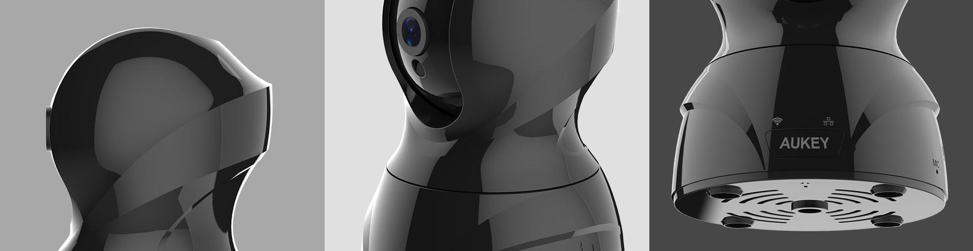 VT-CM1, sicurezza a 360° con riprese Full HD a 1080p
