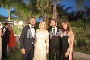 Le foto esclusive del matrimonio di Fabio Caserta, allenatore della Juve Stabia