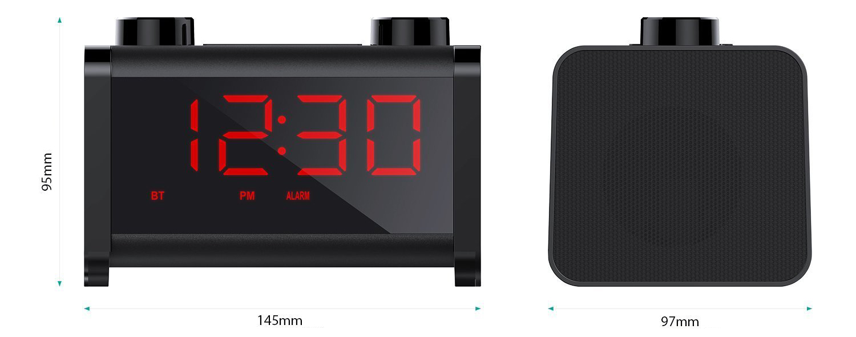 SK-M37, la radiosveglia Bluetooth multifunzione