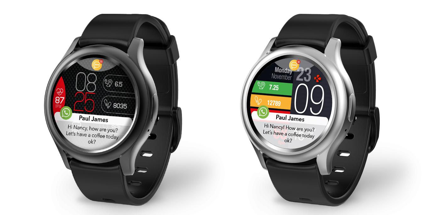 ZeRound3, l'orologio smart con il touchscreen rotondo